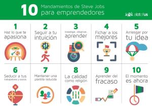 10 MANDAMIENTOS STEVEN JOBS